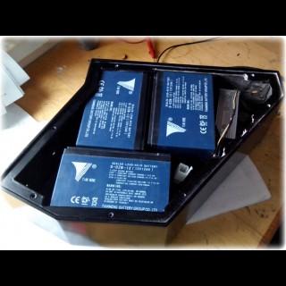 6-DZM-9 12V 9Ah тяговий свинцево-кислотний акумулятор для електровелосипеда