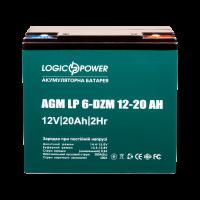 LP 6-DZM-20 12V 20Ah тяговий свинцево-кислотний акумулятор для електровелосипеда