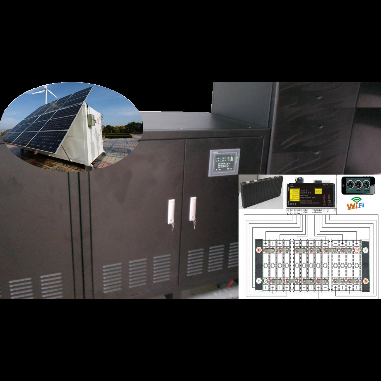Акумулятор для сонячних панелей 48V 500Ah LiFepo4