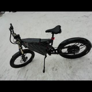 Электронабор для велосипеда 72В 3000Вт безредукторный с литий-ионным аккумулятором Boston Swing 31,8Ah