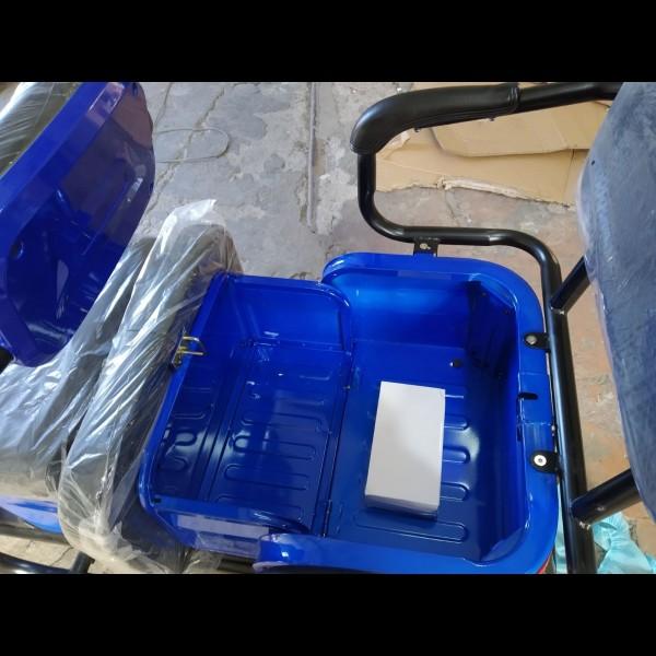 VEGA Help 60V 650W трехколесный грузовой электроскутер