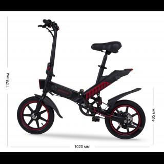 Proove Sportage 350w компактний електровелосипед з акумулятором 10Ah