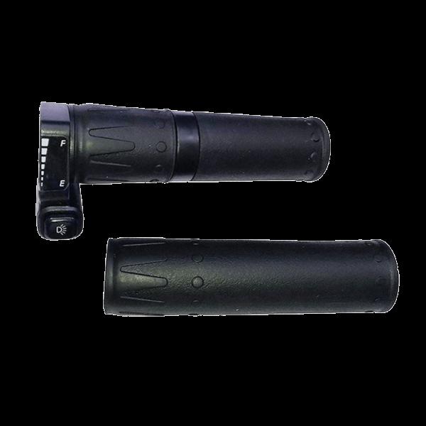 Ручка газа 36/48В грипшифт с индикатором и кнопкой