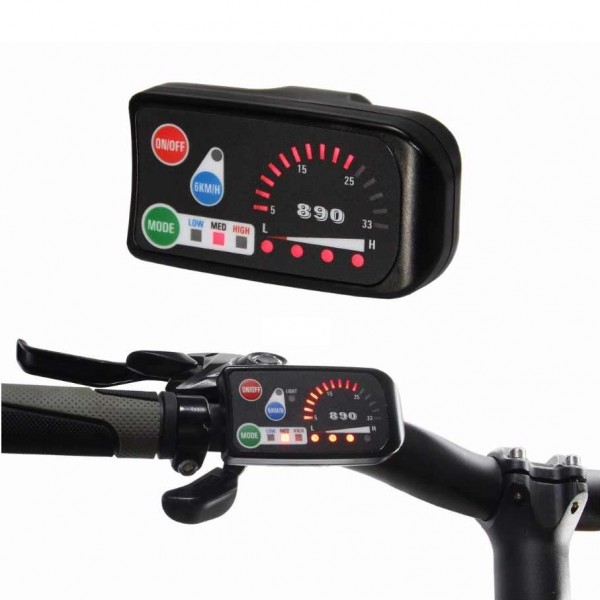 Дисплей LED-890 для електровелосипеда