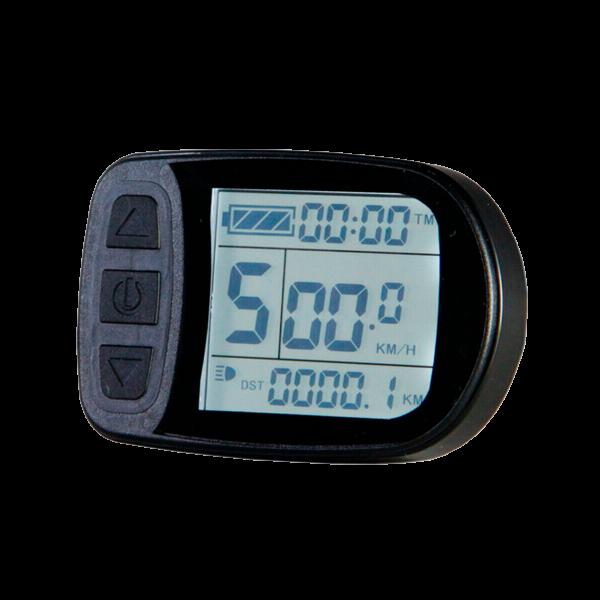 Дисплей LCD-5 для електровелосипеда з герметичним роз'ємом