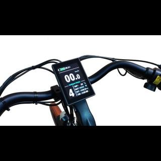 Електронабір для велосипеда 48В 500Вт MXUS редукторний з літій-іонним акумулятором Panasonic 14,4Ah