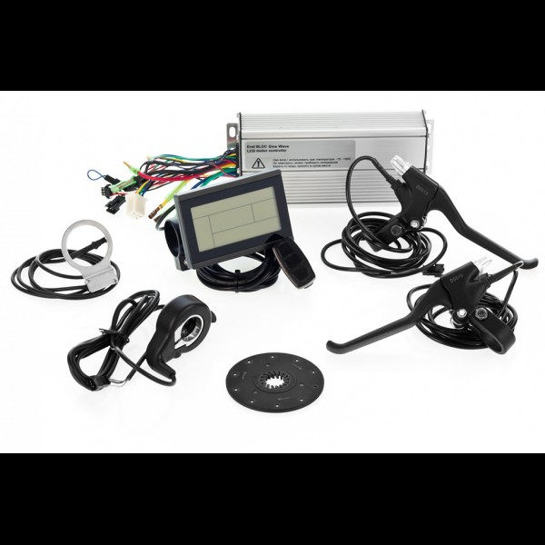 Електрокомплект для велосипеда 48В 750Вт FAT редукторний з літій-іонним акумулятором Panasonic 12,8Ah