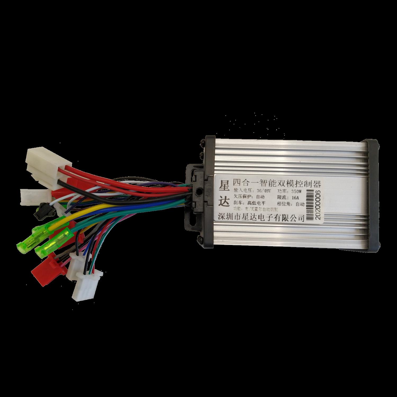 36-48В 350Вт контролер для електровелосипеда