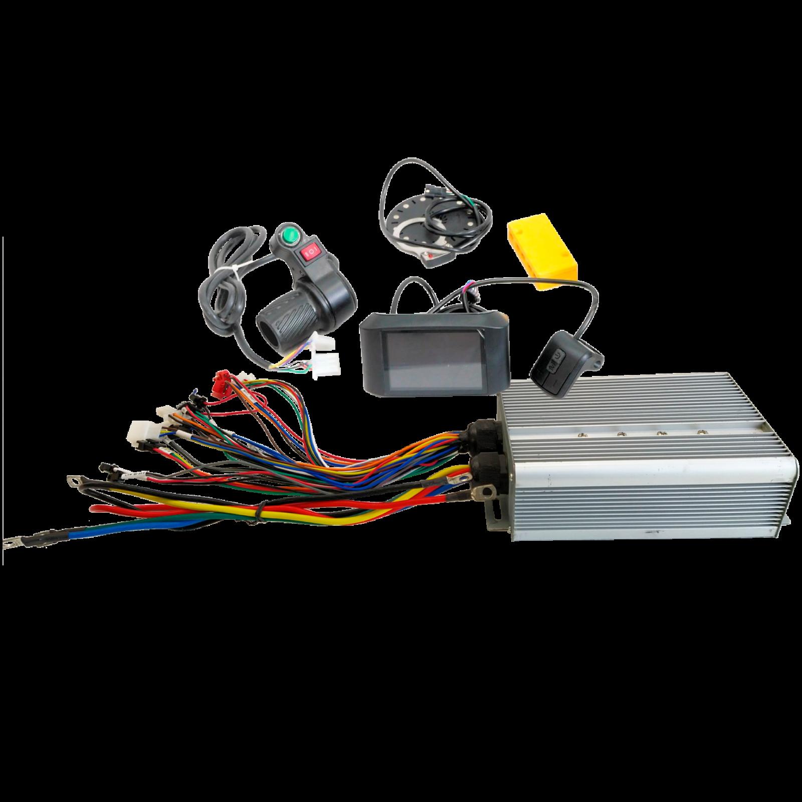 Набір GTS 72В 3000Вт TFT контролер для електровелосипеда