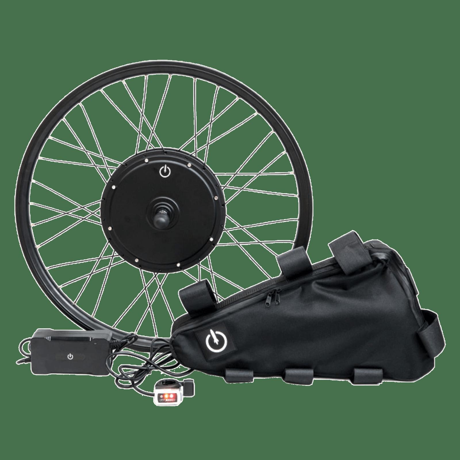Електронабір для велосипеда 48В 500Вт з літій-іонним акумулятором Boston Swing 15,9Ah