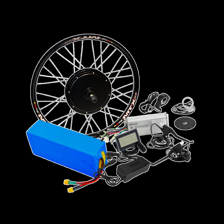 Електронабір для велосипеда 48В 1500Вт безредукторний з літій-іонним акумулятором Boston Swing 21,2Ah
