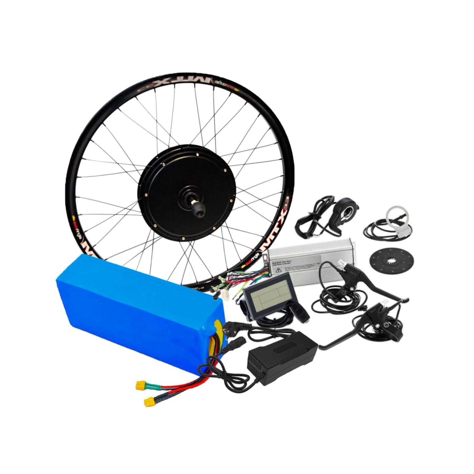 Электронабор для велосипеда 48В 1500Вт безредукторный с литий-ионным аккумулятором Boston Swing 21,2Ah