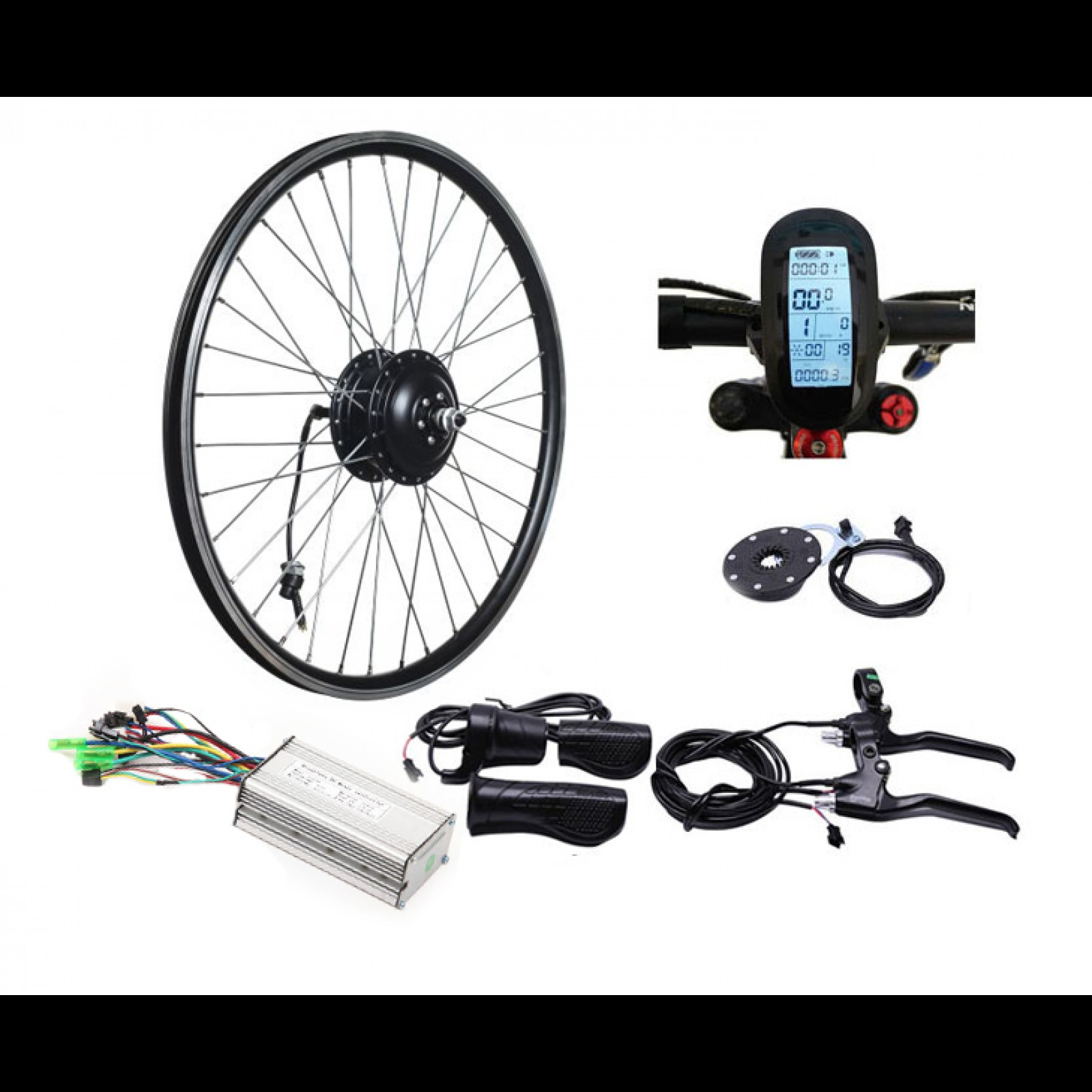 мотор-колесо для електровелосипеда Редукторні