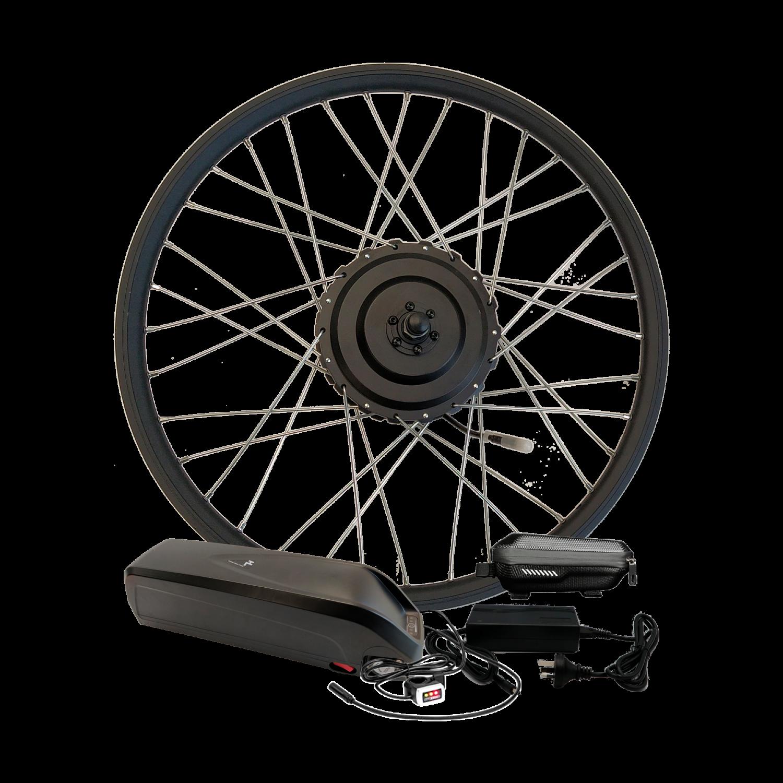 Электронабор для велосипеда 36В 500Вт MXUS редукторный с литий-ионным аккумулятором GreenWings 13,8Ah