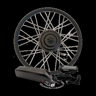 Електрокомплект для велосипеда MXUS 36В 500Вт редукторний з літій-іонним акумулятором Panasonic 14,4Ah