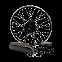 Електроконабір для велосипеда 48В 400Вт MXUS редукторний з літій-іонним акумулятором Panasonic 14,4Ah