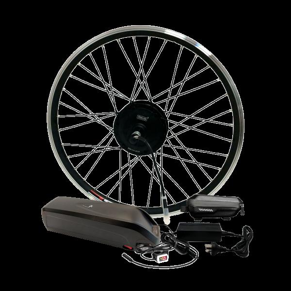Электронабор для велосипеда 48В 400Вт MXUS редукторный с литий-ионным аккумулятором Panasonic 14,4Ah