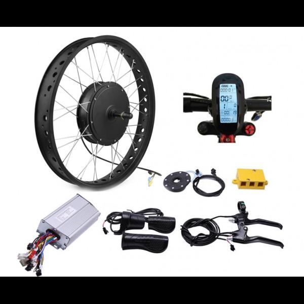 GTS / FAT 1000Вт 48-72В безредукторный мотор для велосипеда