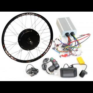 3000Вт GT / GP 72В безредукторний мотор для велосипеда