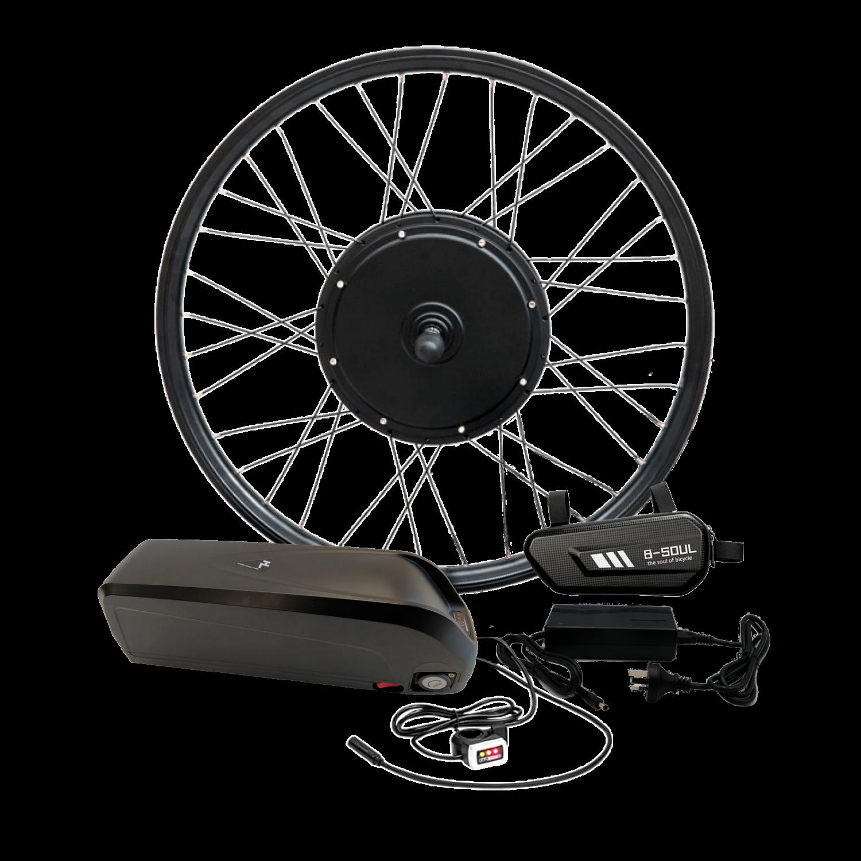 Електронабір для велосипеда 48В 1000Вт GTS / FAT безредукторний з літій-іонним акумулятором Panasonic 19,2Ah