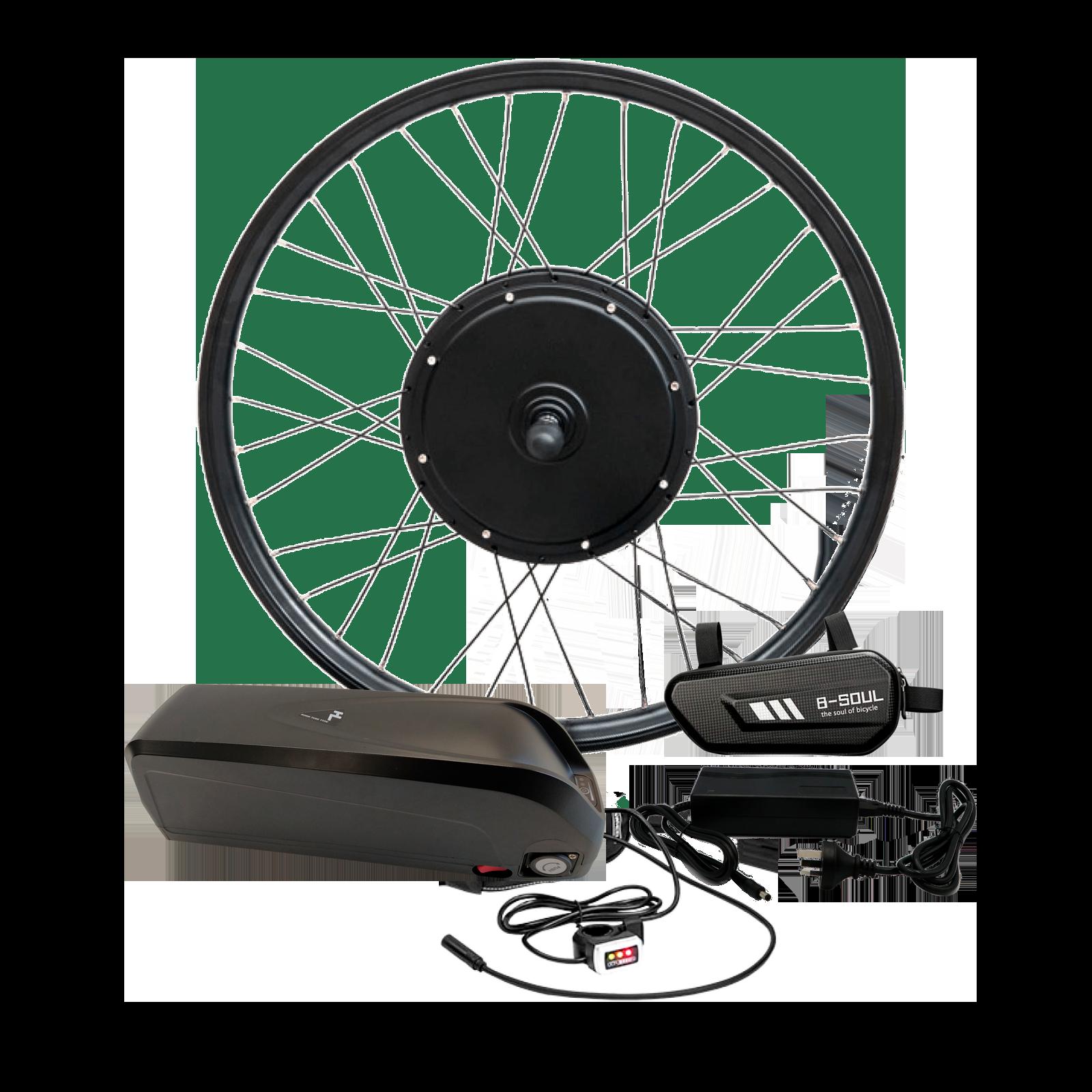 Электронабор для велосипеда 48В 1000Вт GTS / FAT безредукторный с литий-ионным аккумулятором Panasonic 19,2Ah