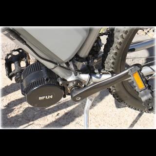Електронабір для велосипеда 48В 750Вт Bafang BBS-02 кареточний