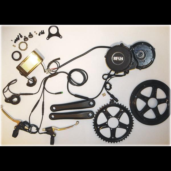 Електрокомплект для велосипеда 48В 750Вт Bafang BBS-02 кареточний